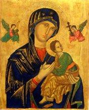Icona di Santa Maria del Perpetuo Soccorso